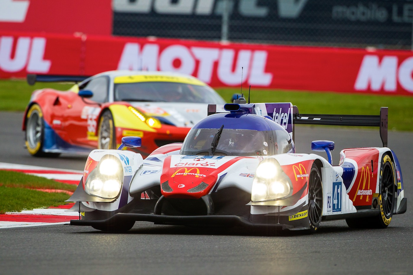 Challenging Silverstone for Greaves