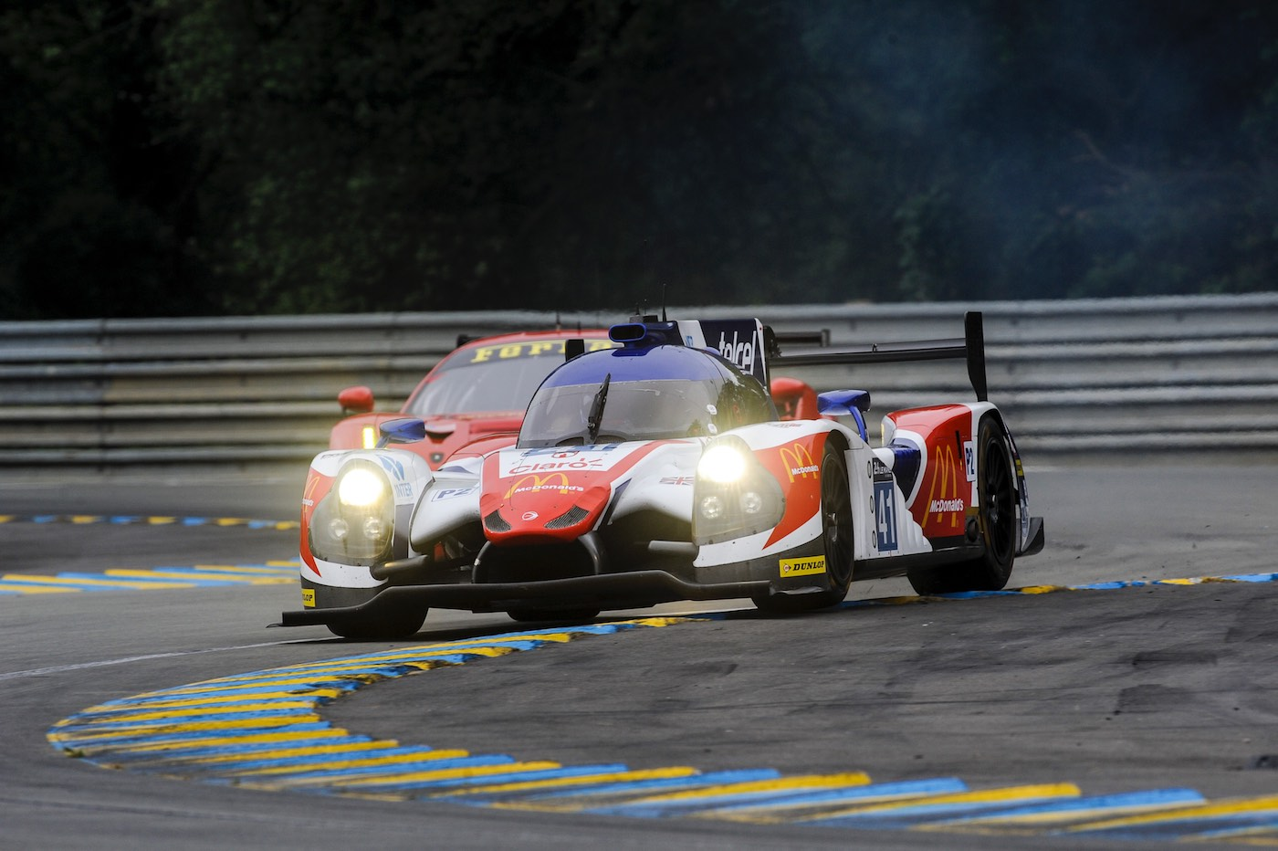 Successful test day at Le Mans